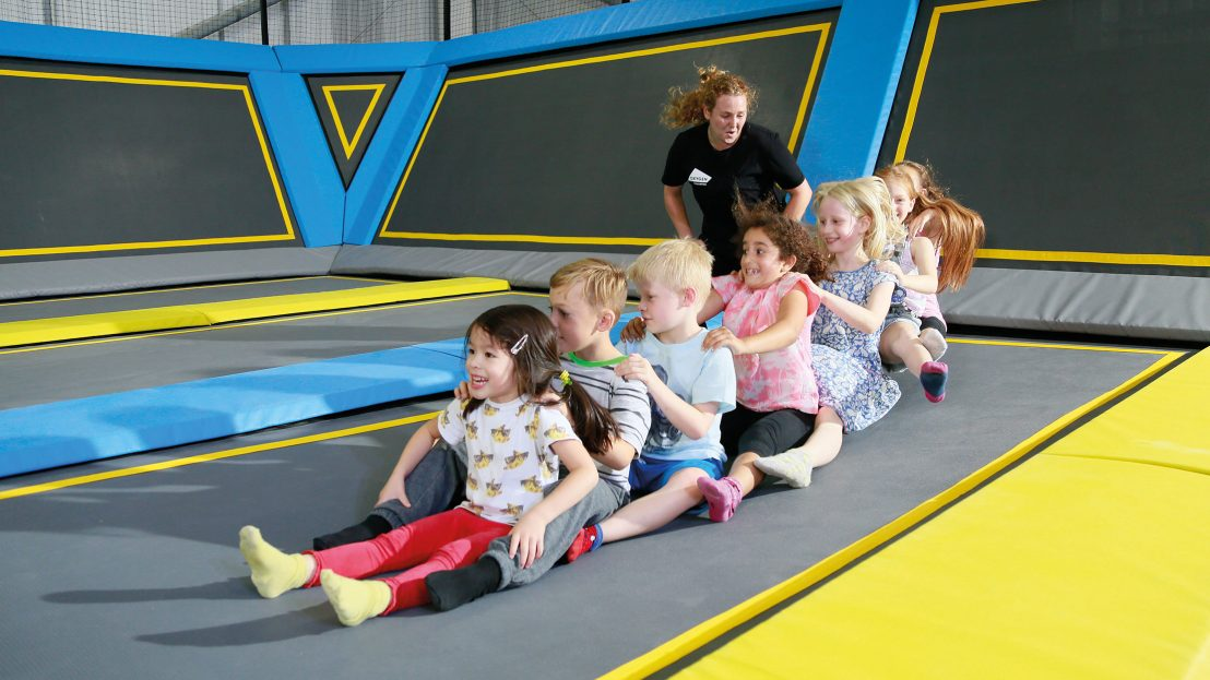 Kids Parties Oxygen Freejumping Activities