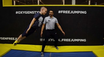 professional trampoline coaching