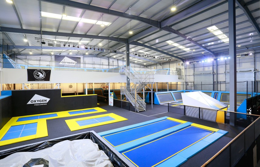 Southamptons New Trampoline Park!  Oxygen Freejumping