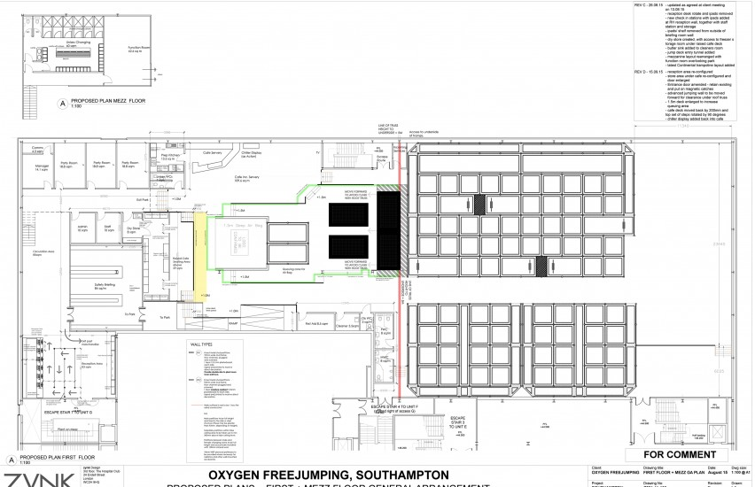 Southamptons new trampoline park oxygen freejumping for Trademark quality homes floor plans