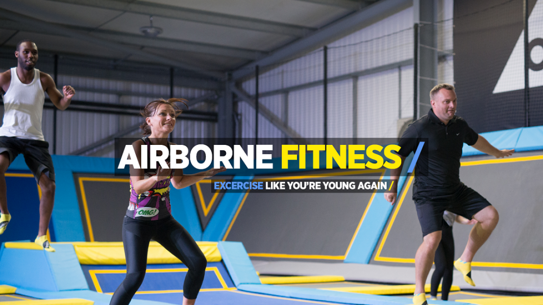 Airborne Fitness Trampoline Classes, trampoline exercise classes