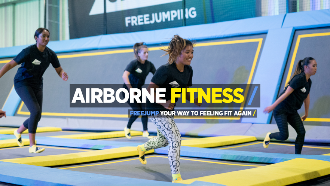 Airborne Fitness Trampoline Classes, trampoline excercise classes