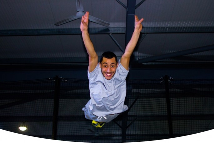 competitions trampoline park