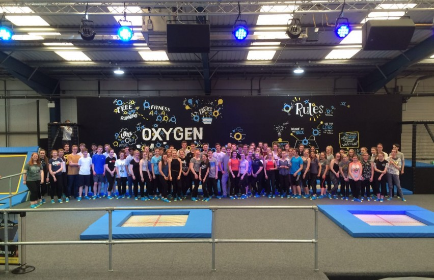 oxygen Freejumping southampton world record attempt