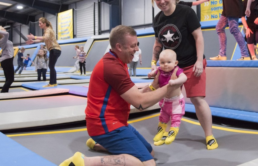 Little O toddler activity session at Oxygen Freejumping
