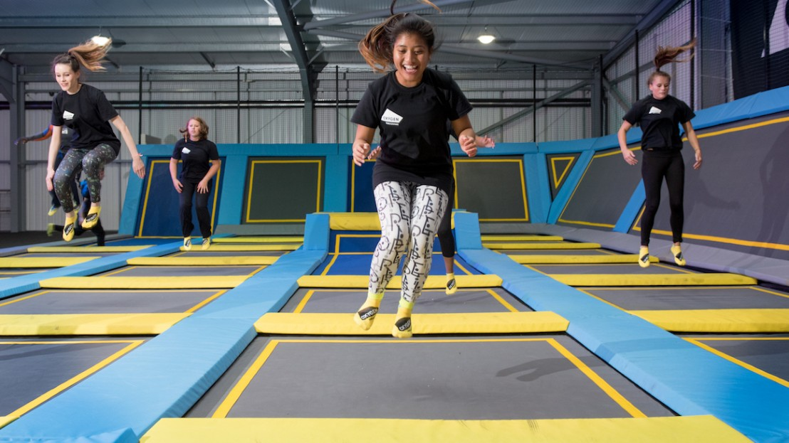 Oxygen Freejumping fitness classes