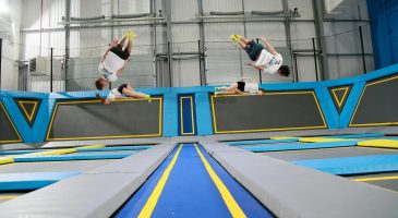 trampolining weekend fun