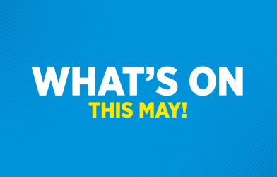 Trampolining in May at Oxygen